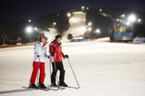 Trượt tuyết tại lễ hội