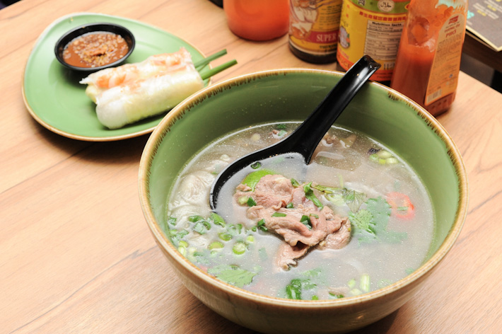 Phở Việt Nam tại NamNam Noodle Bar