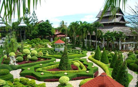Vườn Nong Nooch- du lịch Thái Lan