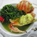 Ghẹ om rau muống – món ăn độc đáo cho tour du lịch Đồ Sơn hè 2015