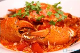 Cua sốt ớt - Món ăn đặc trưng cho ẩm thực Singapore
