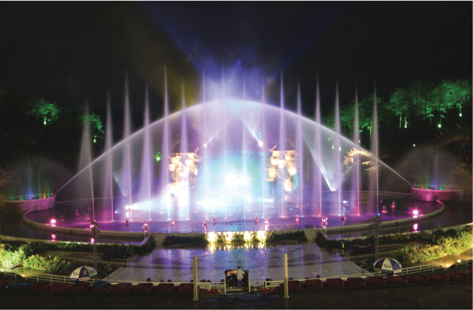 Chương trình nhạc nước hoành tráng ở Tuần Châu
