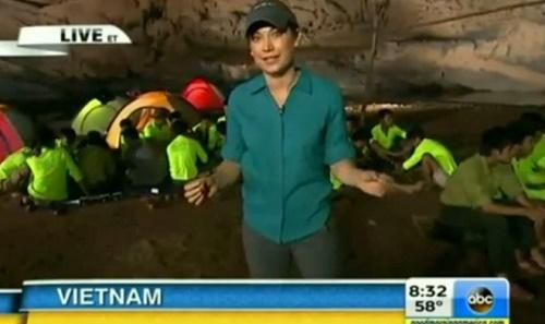 Hang Sơn Đoòng được truyền hình trực tiếp trên kênh truyền hình Mỹ