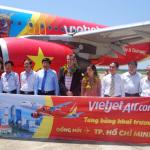 Vietjet mở thêm đường bay Hồ Chí Minh – Đồng Hới