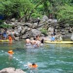 Suối nước Moọc- nơi bình yên chèo thuyền kayak