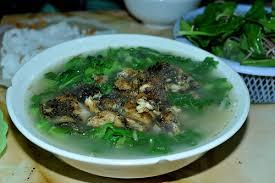 Canh cá rô đồng Thái Bình thơm ngon, bổ dưỡng