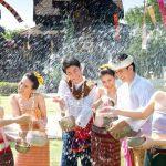 Songkran- Lễ hội truyền thống ở Thái Lan