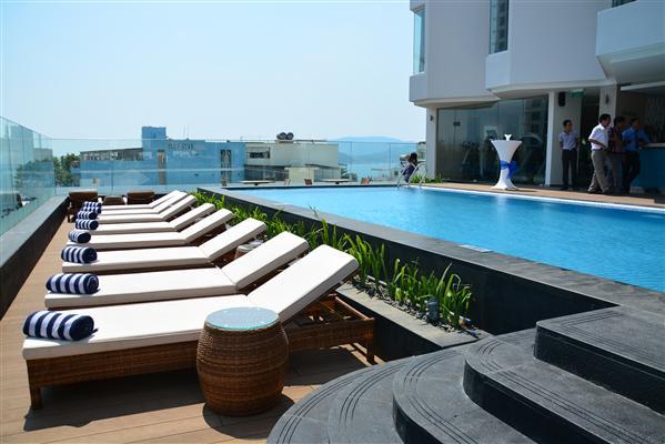 Không gian khách sạn Central Nha Trang