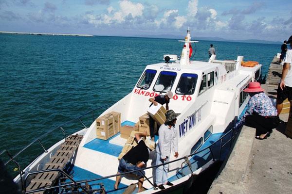 Tàu ra đảo Cô Tô