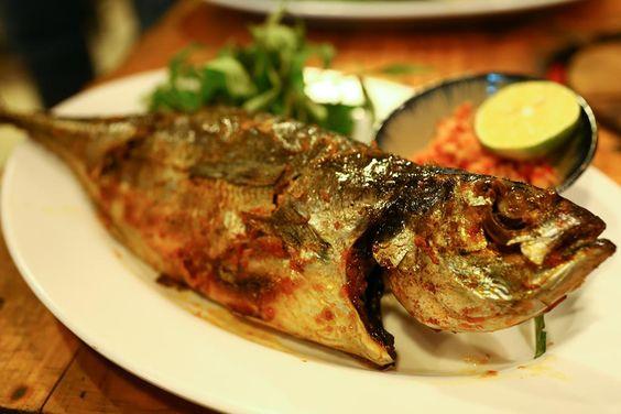 Món cá sòng nướng