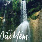 Chiêm ngưỡng vẻ đẹp của thác Dải Yếm Mộc Châu