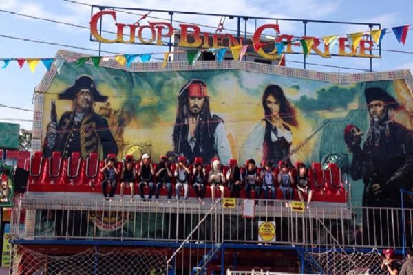 Trải nghiệm khu vui chơi cướp biển Caribe