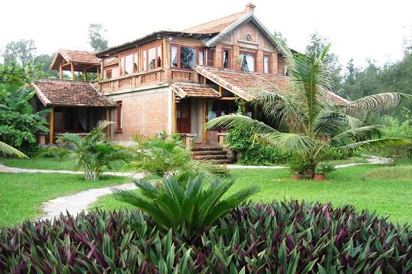 Vạn Chài Resort - kiến trúc truyền thống với tiện nghi hiện đại